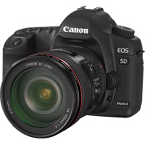 Canon 5D Mark II previewed in The technofile