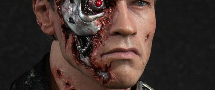 Battle Damage Terminator Figure
