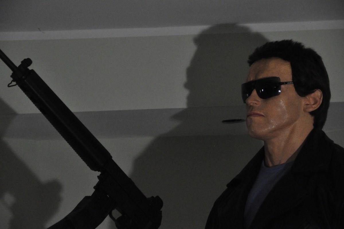 The Terminator Life-Size Statue
