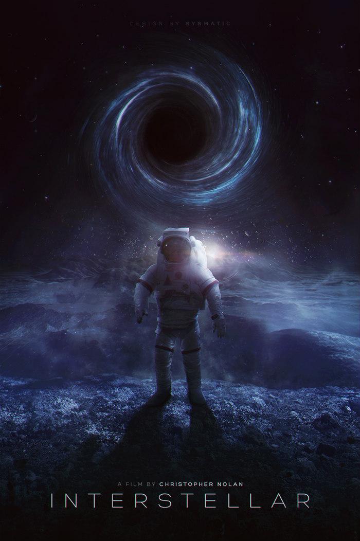 Interstellar Nolan Poster