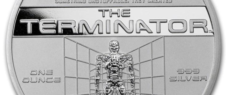Endoskeleton T-800 The Terminator Coin Collectible
