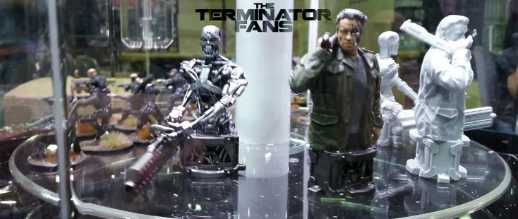 Guardian Endoskeleton Bust River Horse Terminator Genisys