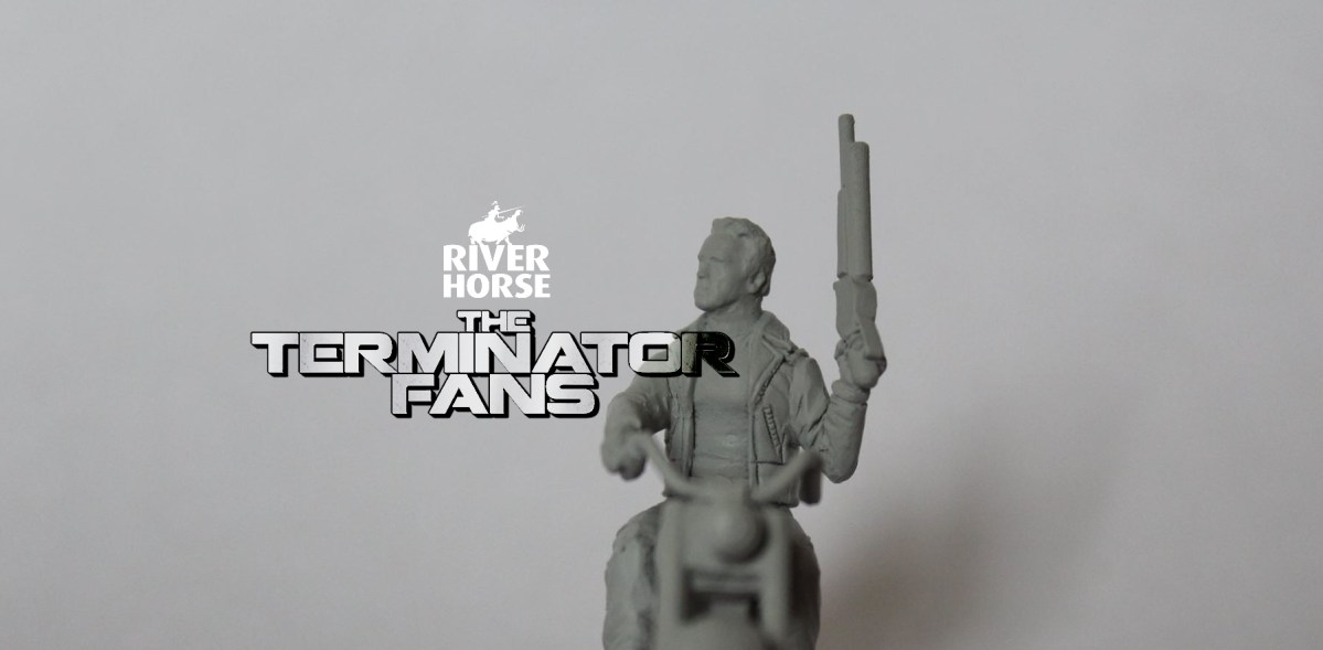 Exclusive: River Horse Terminator Genisys Guardian 1984 on Motorcycle
