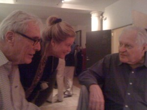 Mark Strand, Star Black & John Ashbery