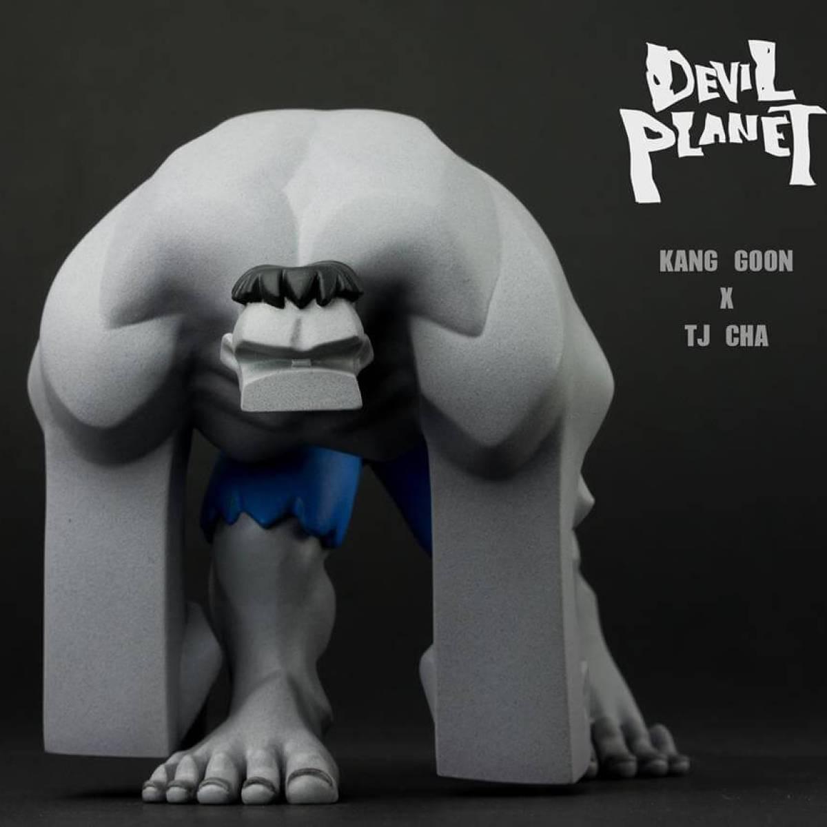 Mr Gray DEVIL PLANET HULK By Kang Goon x TJ Cha