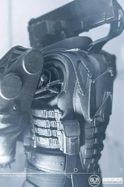 SolidCam Estudio VFX big lazy robot Keloid back