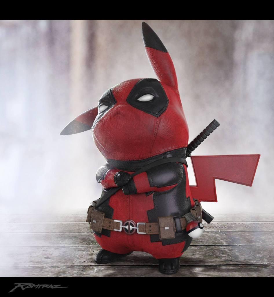 pikapool-ralph-andres-art-of-ramtraz-pikachu-deadpool-valor-props-red