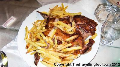 Deboned and Stuffed Chicken-Kosovo-Restaurant