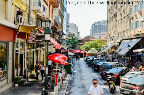 Greek Street-Thessaloniki-Greece