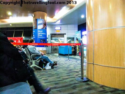 Emirates Waiting Area
