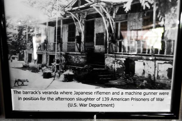 Japanese Barracks Veranda in POW Camp