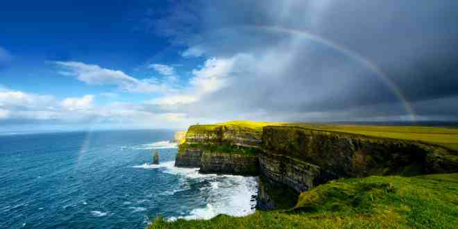 NEW! First Class Journey by Train Through Ireland