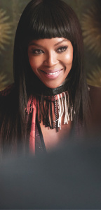 Naomi Campbell in the Burberry Festive Film, shot by Burberry