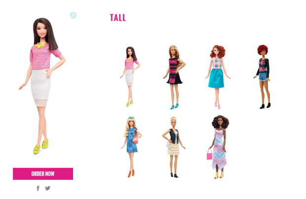 barbie tall