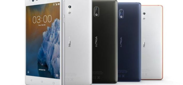 3 modele noi de smartphone Nokia, cu sistem Android, prezentate în cadrul Mobile World Congress