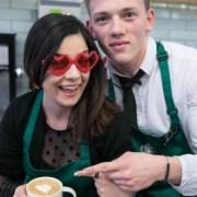 Luna iubirii, inspirația perfectă pentru Starbucks Latte Art