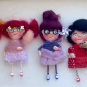 New Trends: Colecția Mărțisor 2017 Dollflowers – selecție unicat de păpuși personalizate broșe