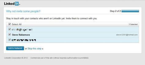 Finding Joecool aka Steve Nakamura via LinkedIn import