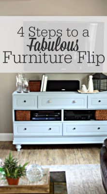 Painting Furniture, 4 Steps to an Updated Dresser