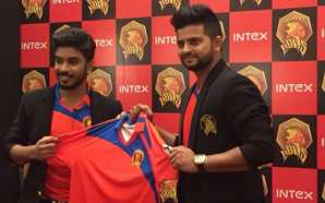 Gujarat Lions Captain Suresh Raina Becomes Brand Ambassador for Intex…