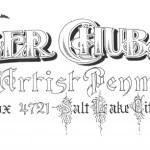 Salt Lake City artist Skyler Chubak cultivates elegant, finer, graceful hand of American penmanship
