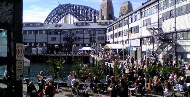 Photo at Sydney Writers' Festival 2012 by Tom Worthington
