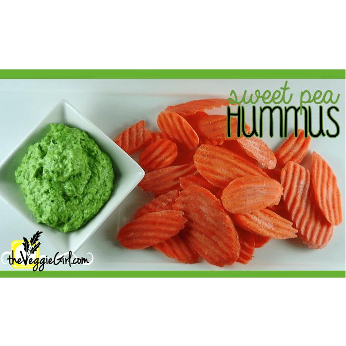 Sweet Pea Hummus {health benefits of green peas}