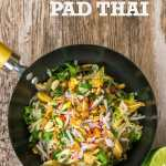 Recipe: Ultimate Vegetarian Pad Thai (& EZ Tofu Press Giveaway RRP £35)