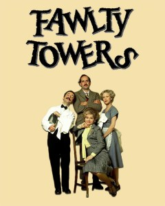 Fawlty Towers Art