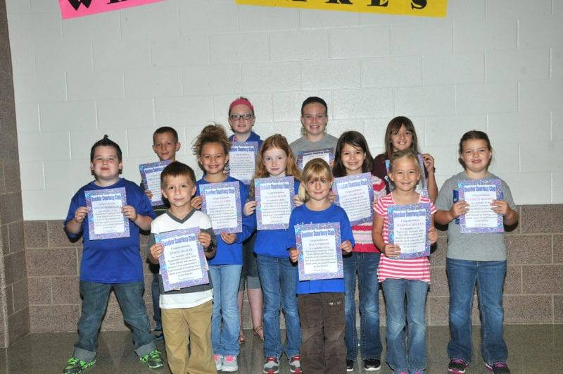 September Bomber Courtesy Club Members Honored At Edon Schools