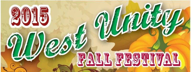 West Unity Fall Fest Scheduled For Saturday