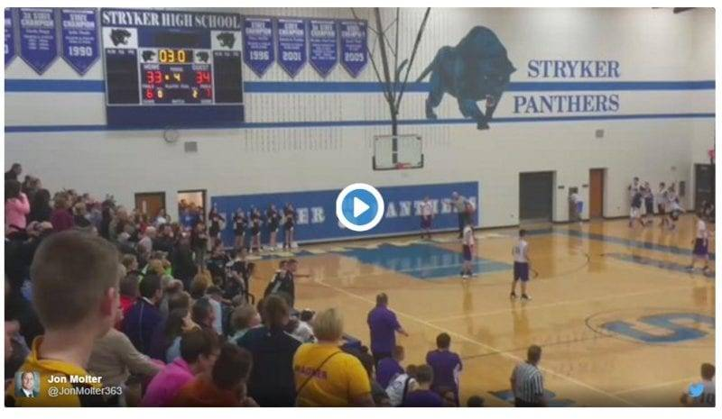 Fayette 8th Grade Boys Basketball Team Wins On Stunning Last Second Shot
