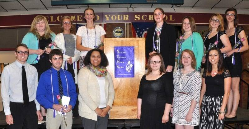 Four County Career Center Inducts New Members Into National Technical Honor Society
