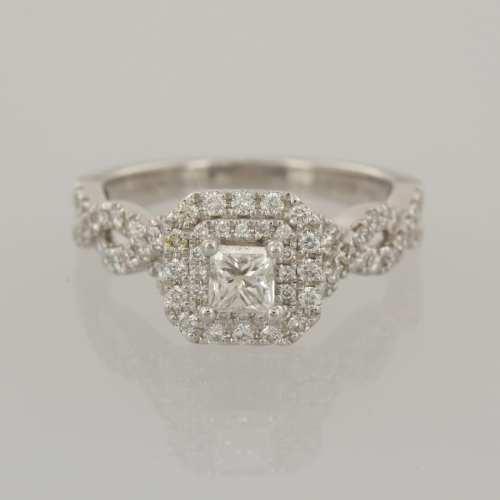 Medium Of Vera Wang Engagement Ring