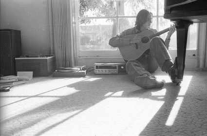 #719X 26A-James Taylor Peter Asher's living room-Dec 13, 1969-small