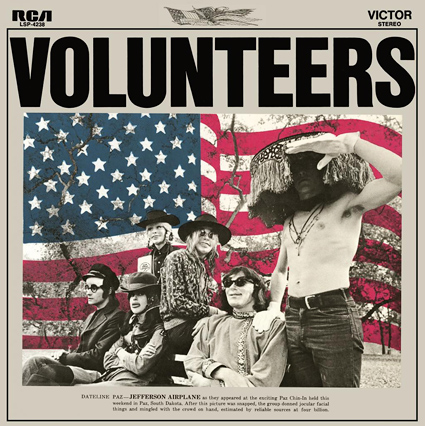 Graded On A Curve Jefferson Airplane Volunteers The Vinyl District