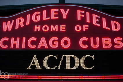 Tvd Live Shots Acdc At Wrigley Field 915 The Vinyl District