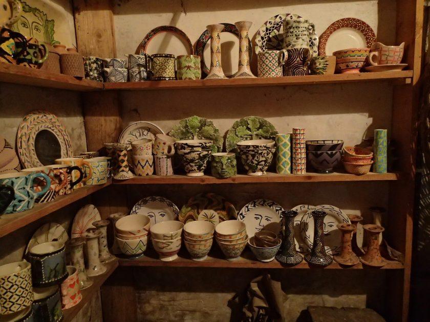 Prue Piper ceramics at Bruton Museum