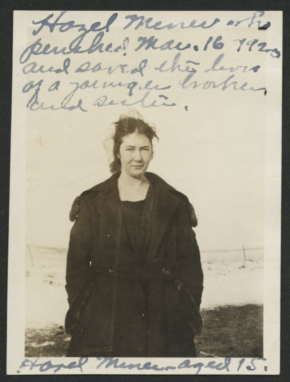 Hazel Miner photo from State Historical Society of North Dakota