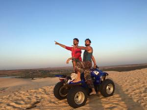 Rode this beast through the dunes at sunrise outside of Mui Ne