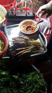 Checkout the amazing street food on the other side of the river at the Tigon Hostel in Huê