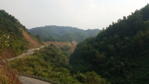 The scenic road from Huê to A Lưới, eventually leading to Phong Nha.