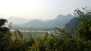The Tien Son Cave had the added benefit that its entrance was high up the mountain, which gave you a stunning view of the Phong Nha landscape and river below!