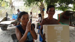 Helping a family with water filters in a remote village around Siem Reap. You never realize how much of a difference you make until you see how much gratitude they return!