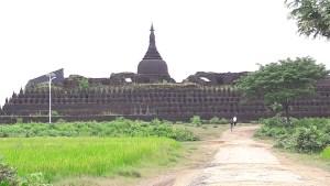 The 90000 Buddha Temple in Mrauk U