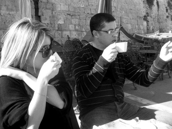 Coffee in Valletta, Malta