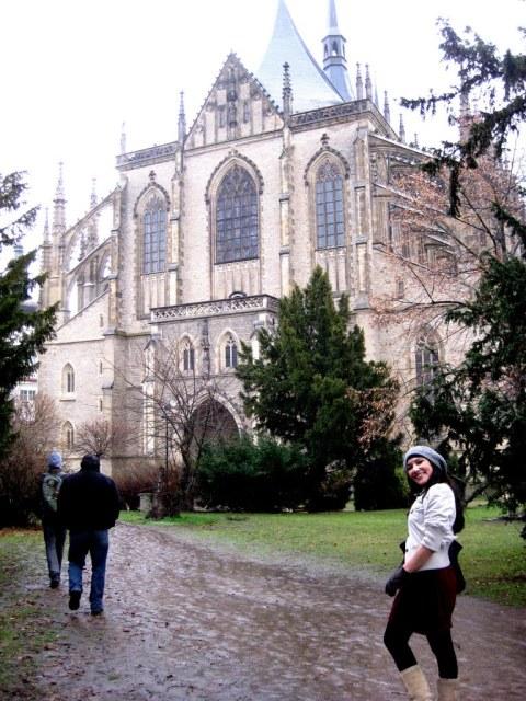 Santa Barbara, Kutna Hora, Prague