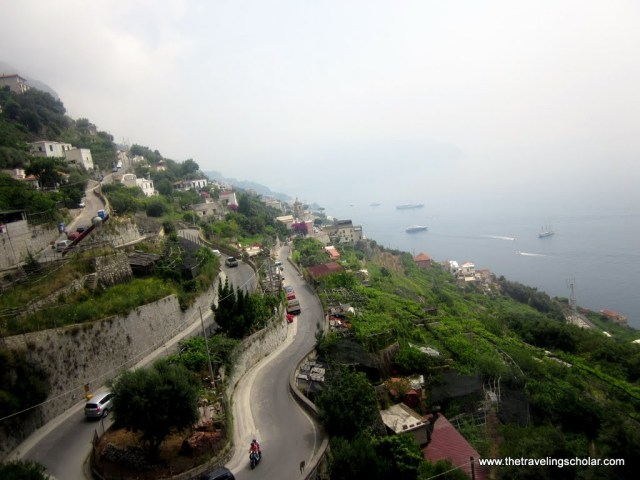 Amalfi Coast Roads
