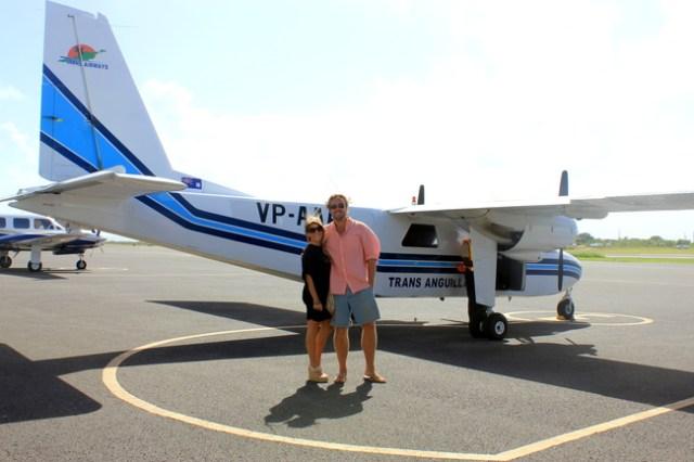 Flight to St. Barths