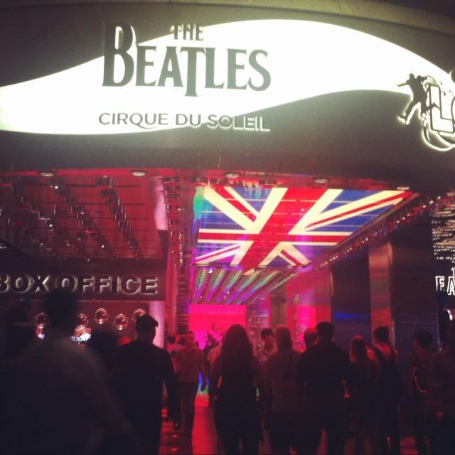 Beatles, Las Vegas